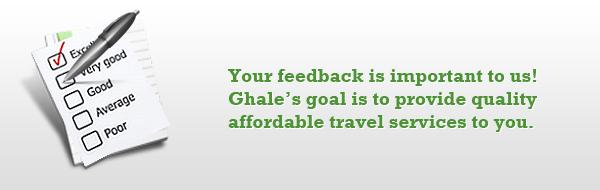 Ghale Treks Client Feedback