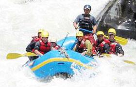 Nepal Bhotekoshi River rafting