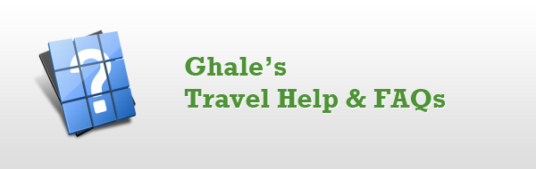 Travel Help and FAQs