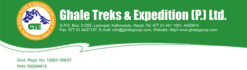 Credit Card Authorization Form of Ghale Treks and Tours