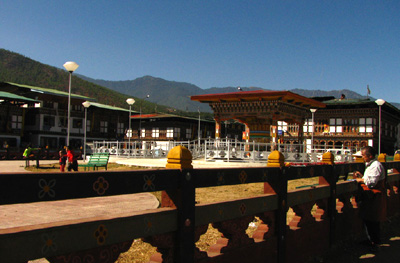 Bhutan City Paro