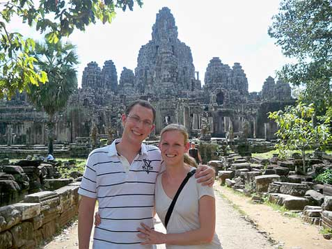 Honeymoon in Cambodia