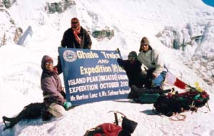 Mountain Expedition in Nepal